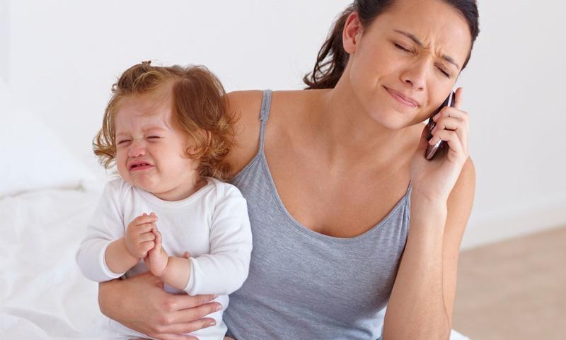 как успокоиться если бесит ребенок